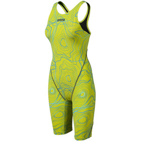 arena Powerskin ST 2.0 Full Body Short Leg Open Back LTD Edition 2019 Women sonic lime
